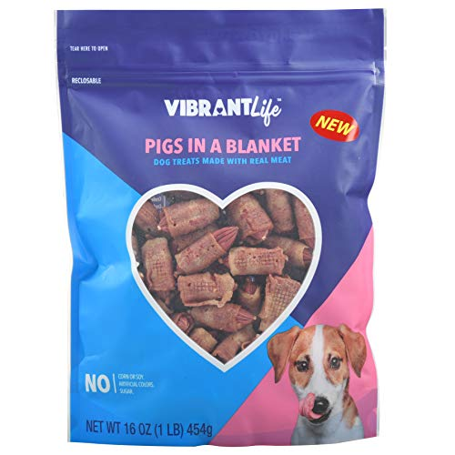 Vibrant Life Dog Treats (Pigs in a Blanket, 16 oz- 3Pack)
