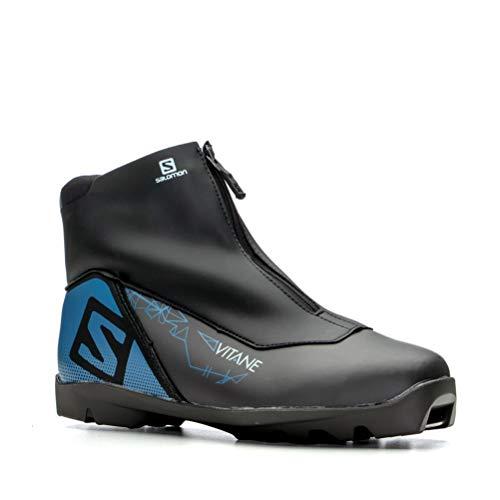 Salomon Vitane Prolink Womens NNN Cross Country Ski Boots 2020-6.5/Black