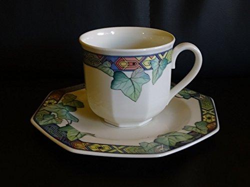 Villeroy & Boch Pasadena: Kaffeetasse mit Unterteller/Tasse mit Unterteller