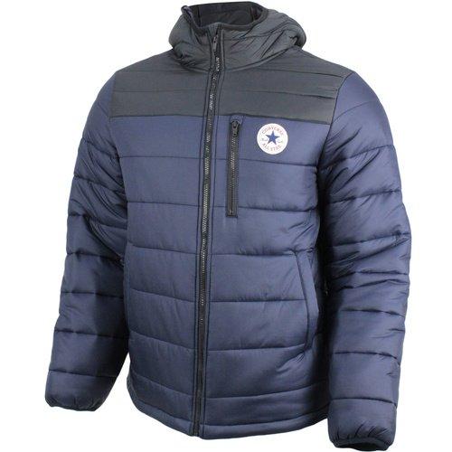 Converse Core Poly Fill Jacket Chaqueta, Azul (Dark Obsidian/Black 424), XXL para Hombre
