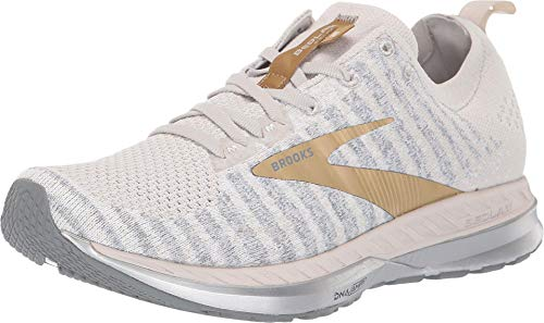 Brooks Bedlam 2 White/Grey/Gold 8 B (M)