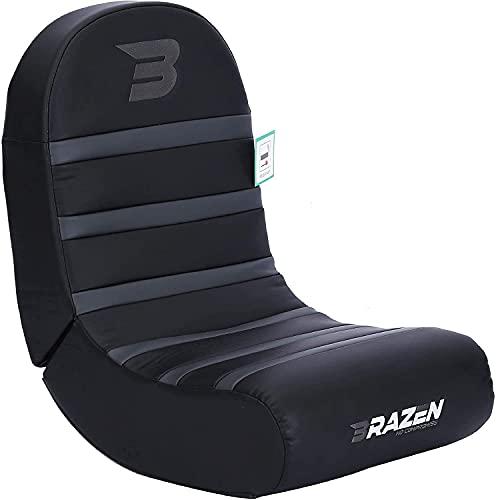 BraZen Piranha Gaming Chair - Grey