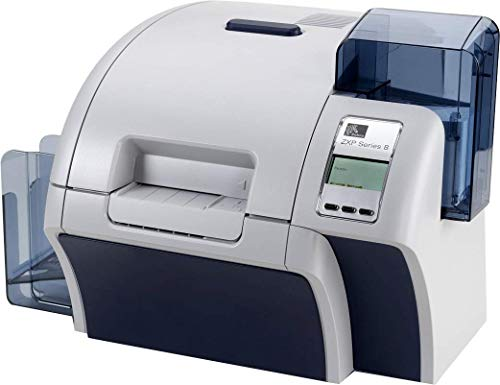 Zebra ZXP Series 8 Dual Sided ID Card Printer with Ethernet (Renewed)