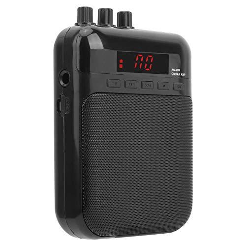 Mxzzand Robuste Gitarrenlautsprecherbox Tragbares E-Gitarren-Zubehör für Gitarrenliebhaber