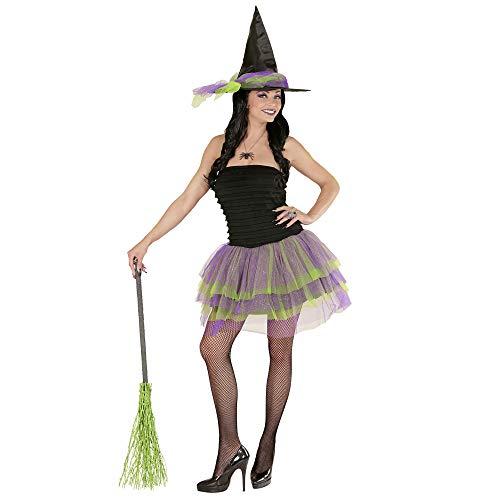 Widmann-Strega Scintillante Costume Donna, Multicolore, (M), 02272