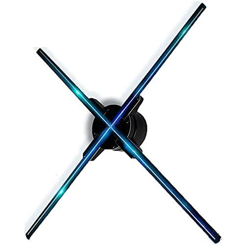 ZLH Exhibición De Publicidad del Ventilador del Holograma 3D para Tienda Comercial, Máquina De Publicidad WiFi De 65CM, Proyector De Video LED Holográfico De Alta Resolución De 1600 X 960 PX