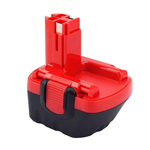 Dosctt Ni-MH 12V 3,0Ah Batería de taladro Reemplazo para Bosch BAT043 BAT045 BAT120 BAT139 2607335542 2607335526 2607335274 2607335709 GSR 12-2 12VE-2 PSR 12 GSB 12VE-2 22612 23612 32612