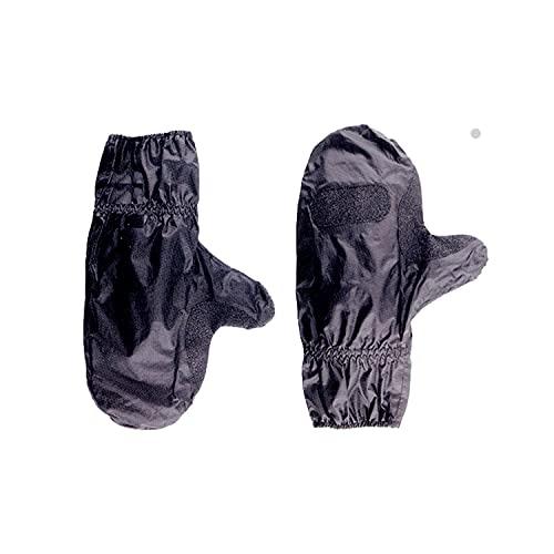 Guardian 0101 Copri Guanti da Moto Anti Pioggia - 100% Impermeabili - Nero, Taglia Unica