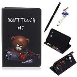 Coque pour Samsung Galaxy Tab E SM-T560 T561 9.6', Etui en Cuir Flip Housse de Protection Mince Case...
