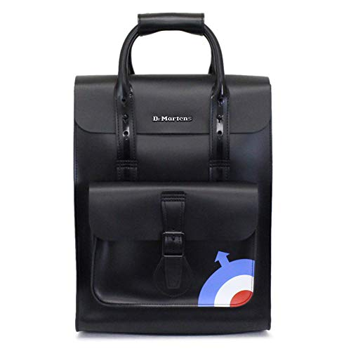 Dr. Martens The Who Small Leather Backpack Black/Black Kiev/Smooth One Size