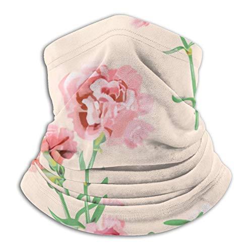 Eliuji Vector Square Floral Ajustable Pasamontañas Casual Microfibra Calentador de Cuello Para Unisex Senderismo Parque Aquí Y Allí
