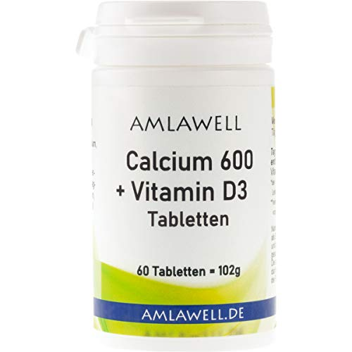 Calcium 600 + Vitamin D3 Tabletten, 60 Tabletten