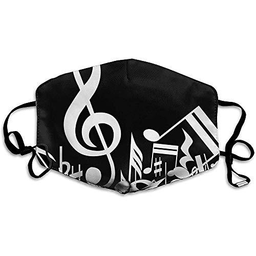 Herbruikbare Mond Maskers Anti-Dust Unisex Zwarte Muziek Warm Gezicht Masker Koele Cover Filters Allergens