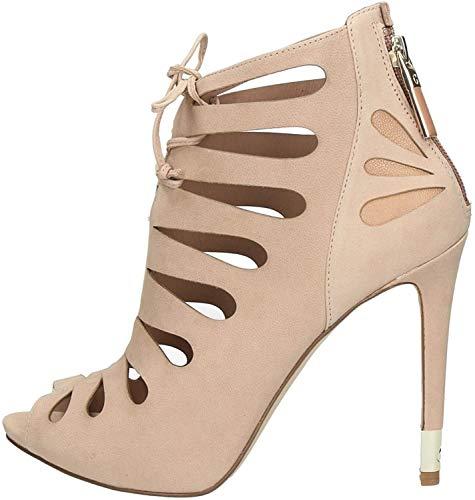 Guess Damen Sandalen Sandaletten FL2AMA LEA09 Pink 38 EU