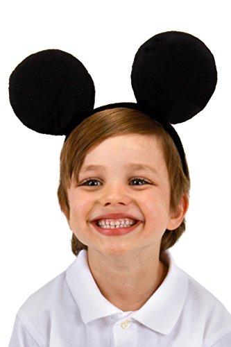 Disney Mickey Costume Ears Headband Black