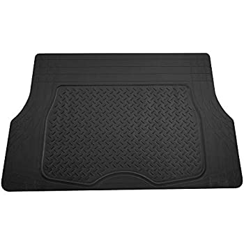 FH Group F16401BLACK Black Trimmable Cargo Mat/Trunk Liner  Premium Quality Trimmable Cargo Mat/Trunk Liner