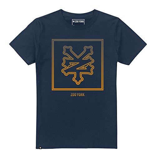 Zoo York Keyline Camiseta, Azul (Navy NVY), X-Large para Hombre
