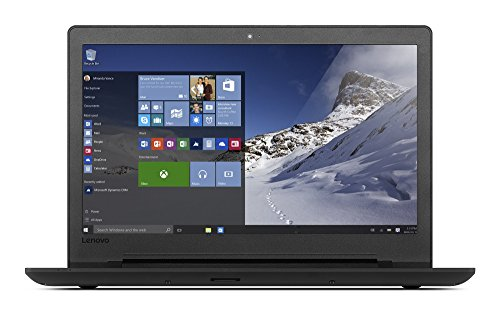 Lenovo ideapad 110 39,62 cm (15,6 Zoll HD Glare) Laptop (Intel Pentium N3710 Quad-Core, 4GB RAM, 256GB SSD, Intel HD Grafik 405, DVD-Brenner, Windows 10) schwarz