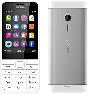 NOKIA 230 DUAL SIM WITH FRONT CAMERA (Less than 512 MB) Silver