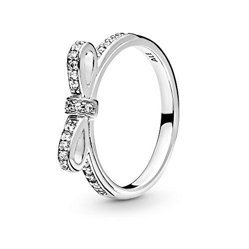 Pandora Ring Schleife aus 925er silber 190906CZ