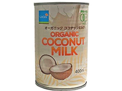 チブギス 有機ココナッツミルク 400ml 1ケース(24缶入り)