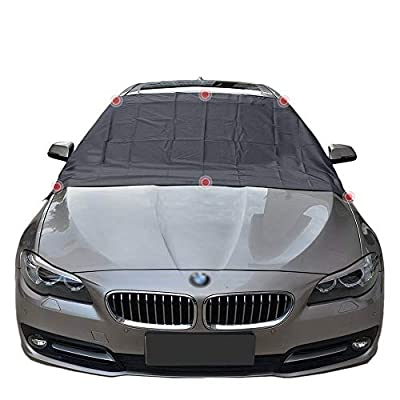 Car Windshield Snow Frost Ice Cover Sunshade Co...