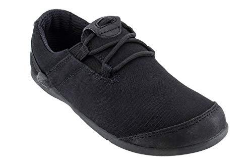 Xero Shoes Hana - Men's Casual Canvas Barefoot-Inspired Shoe - Black