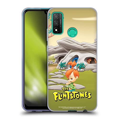 Head Case Designs Licenciado Oficialmente The Flintstones Pebbles Picapiedra Personajes Carcasa de Gel de Silicona Compatible con Huawei P Smart (2020)