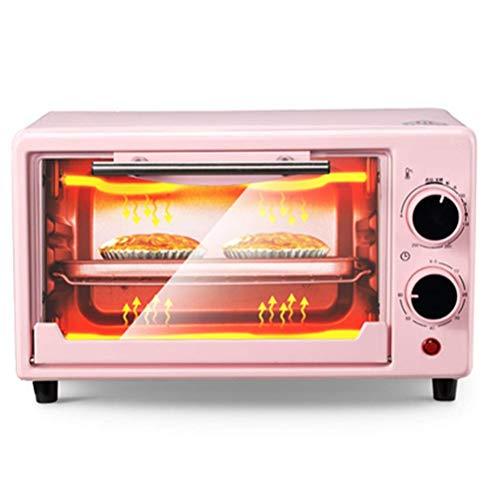12L Elektroofen, Multifunktionsbacken Kleiner Backofen Backen Pizza Pizza Arbeitsplatte Backblech Mini-Backofen