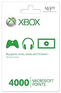 Xbox 360 LIVE 4000 Points by Artist Not Provided (B000NDRT62) | Amazon price tracker / tracking, Amazon price history charts, Amazon price watches, Amazon price drop alerts