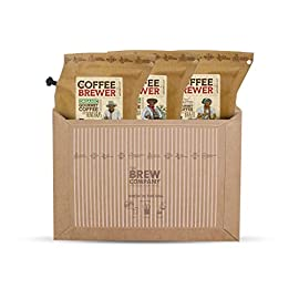 Travel Coffee for The Coffee Lover, Brew 6 Cups of Hand Roasted Specialty Coffee on The go and as Travel Back-Pack. Enjoy Fresh Rich Specialty Coffee Anywhere, Anytime