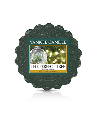 Yankee Candle Tarts Tealight Candles, Wax, The Perfect Tree, 8.4 x 6.1 x 1 cm