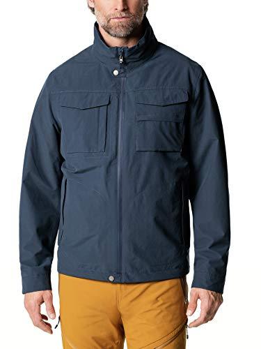 Klepper Herren Aquastop Protection Jacke einfarbig Marine 52
