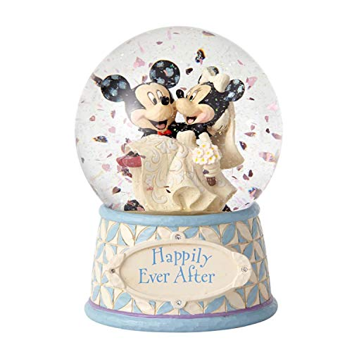 ENESCO Disney Traditions Mickey and Minnie Mouse Water Globe