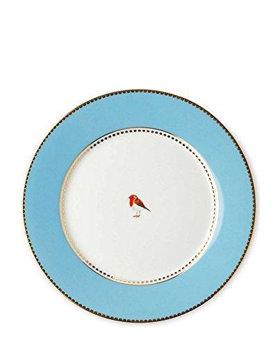 Pip Studio Teller Love Birds | Blue - 21 cm