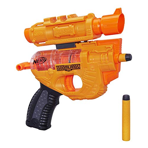 Holdout Nerf Doomlands Toy Blaster with Detachablex 40Mm amp 2 Official Doomlands Elite Darts for Kids Teens amp Adults Amazon Exclusive