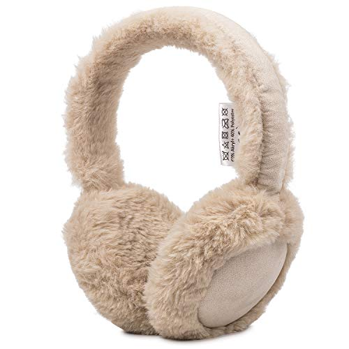 August Orejeras Invierno EPA50 Earmuffs Auriculares Bluetooth Música Inalámbrica Unisex Orejeras de Felpa, Manténgase Caliente al Aire Libre, para Actividades y Deportes