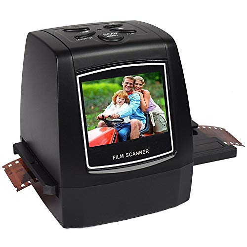 Find Bargain Baoer Film Scanner with 22MP Converts 126KPK/135/110 Films Slides Negatives All in One ...