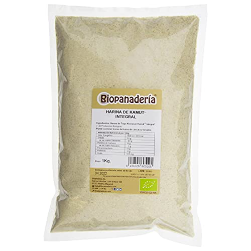 Biopanadería Harina de Trigo Khorasan Kamut Integral Ecológica 1kg