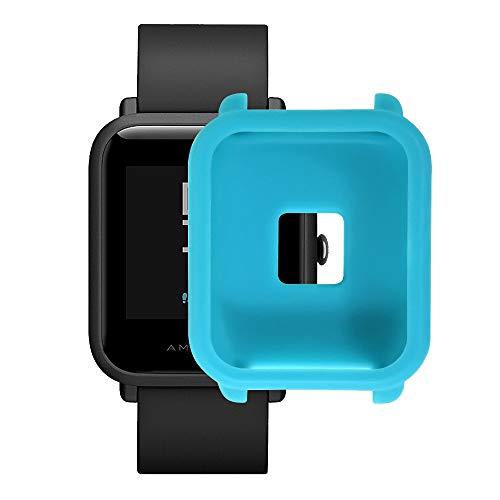 Protector para xiaomi huami amazfit bip Youth,❤️ riou Suave de TPU de Silicona Smartwatch Protector Funda de protección para xiaomi huami amazfit bip Youth Watch Reloj Fundas de Carcasa