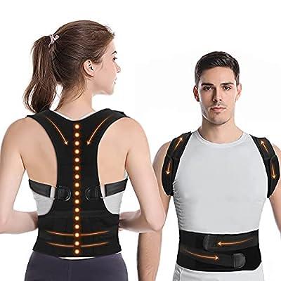 Amazon - 20% Off on Posture Corrector for Men Women, Back Brace for Lower Back Pain
