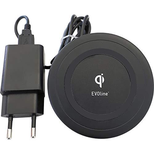 EVOline Cargador inalámbrico (Carga QI), Carga inalámbrica para teléfonos móviles.