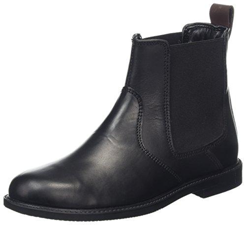 Hush Puppies Mädchen Fleur Chelsea Boots, Schwarz (Black), 37 EU