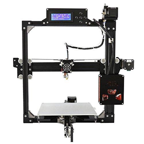 aimado stampante 3d A8Prusa i3misura di stampa 220x 220x 220mm con Display LCD e supporto per scheda SD USB per Windows/Mac, 2filamento ABS/PLA, EU Stock)