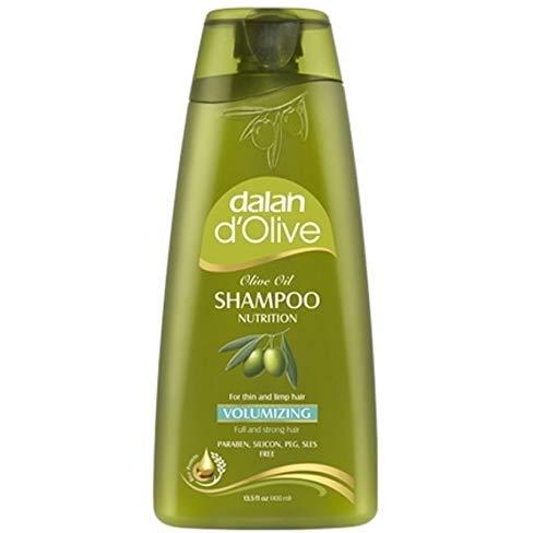 3 x Dalan d'Olive Shampoo Volumizing für dünnes und schlaffes Haar - 400 ml