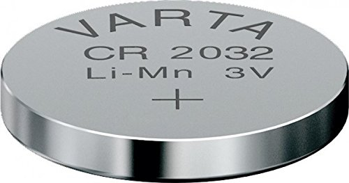 Varta CR2032 Lithium Knopfzelle 3V Batterie in Original Blisterverpackung, 1er Pack