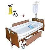 DSEB Vasca da Bagno per disabili,aiuti gonfiabili Adulti Medici del Bagno,con Pompa + Doccia Sacchetto d'Acqua + Cuscino Gonfiabile, per Il paziente,PVC