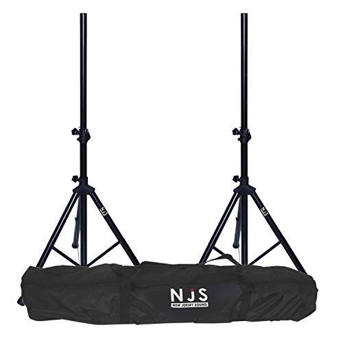 Kit de 2 pieds d'enceintes 35mm charge max 45 kg + sac de transport NJS063DE