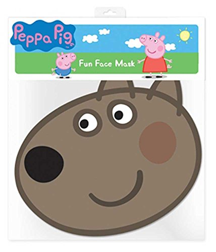 empireposter Peppa Pig Dany Dog – Masque Masque en Carton Brillant Haute qualité en Carton avec Trous pour Les Yeux et élastique 30 x 20 CM