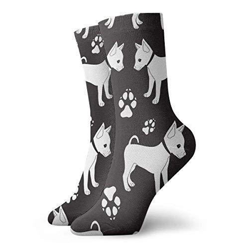 N/A Business Socken,Anzug-Socken,Sport/Sneaker Socken,High Performance Tennissocken,Russische Toy Terrier Hunde Gedruckte Feuchtigkeitskontrolle Laufsocken Langlebige Atmungsaktive Trainingssocken